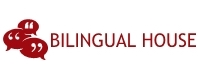 bilingual house logo
